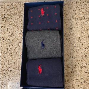 Polo Ralph Lauren 3 pk dress sock gift pack